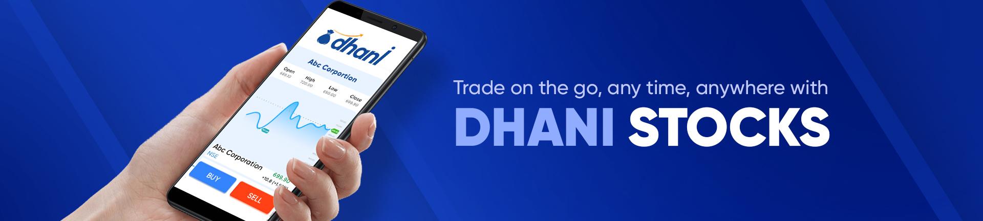 Dhani Stocks - Share Market Trading Mobile App